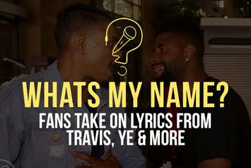 Ye,Travis Scott的歌词& More (What's My Name)