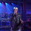 "J. Cole Performs ""Crooked Smile"" Live On David Letterman"
