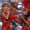Nicki Minaj Brings Out Taylor Swift At The VMAs