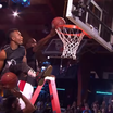 """The Dunk King"" Contestant Throws Down Two Dunks At The Same Time"