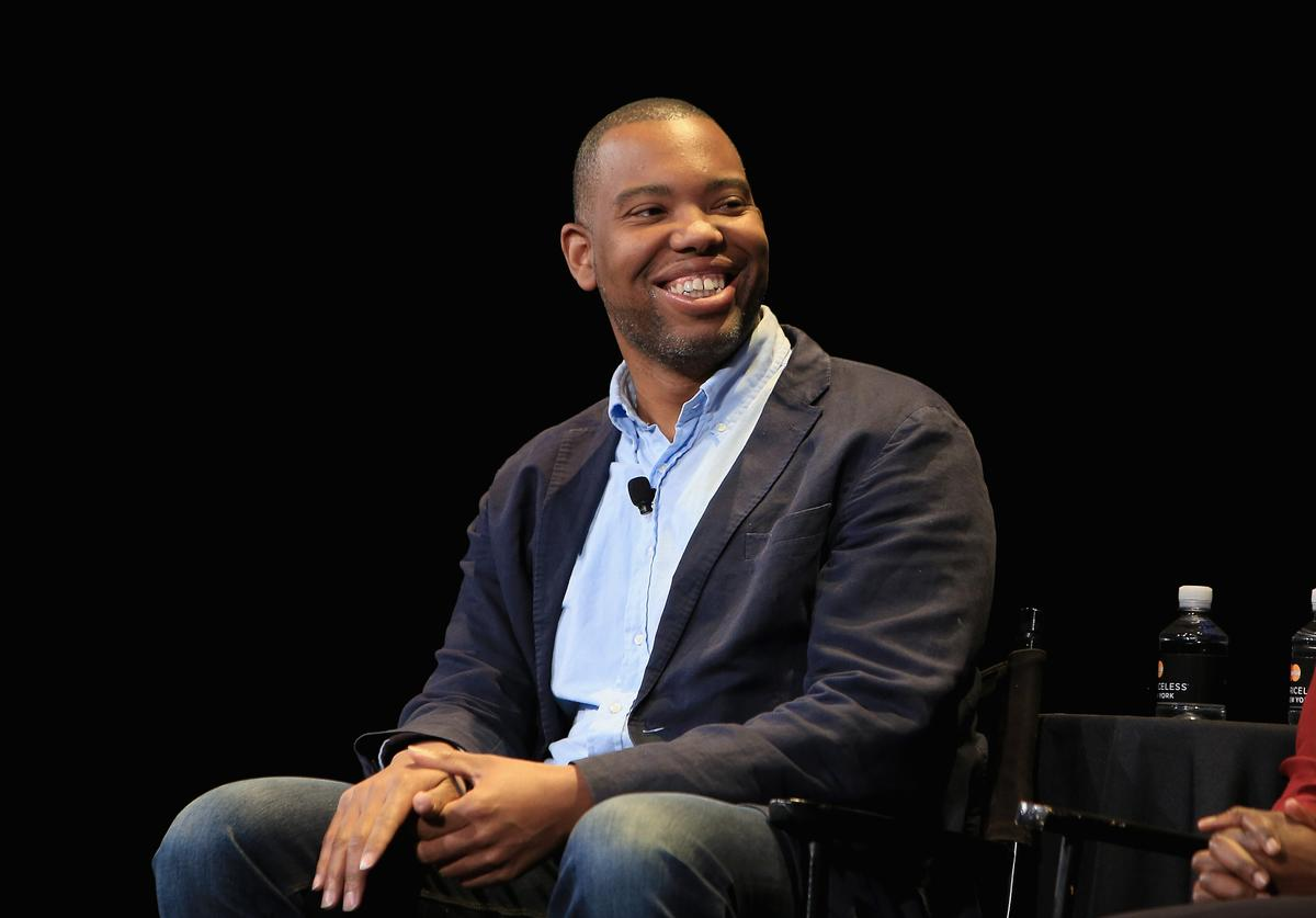Ta-Nehesi Coates at a New Yorker event.