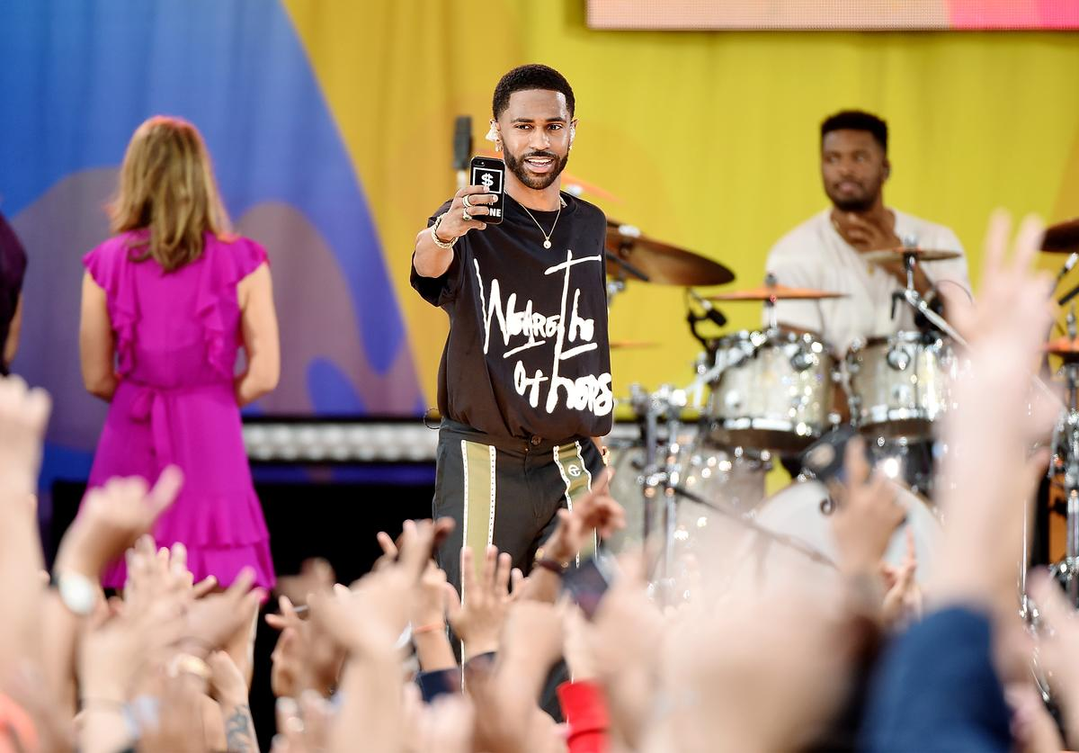 Big Sean Performs On ABC's 'Good Morning America'