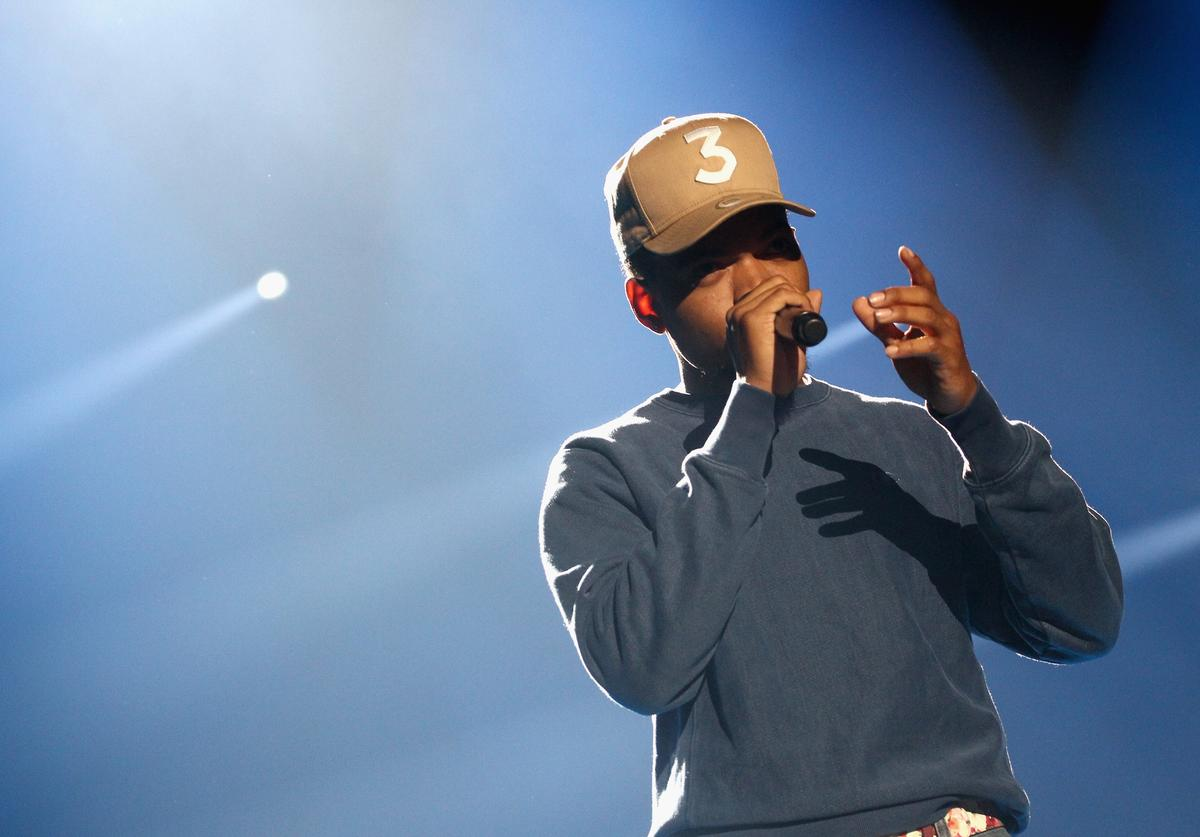 Chance The Rapper performs at XQ Super School Event