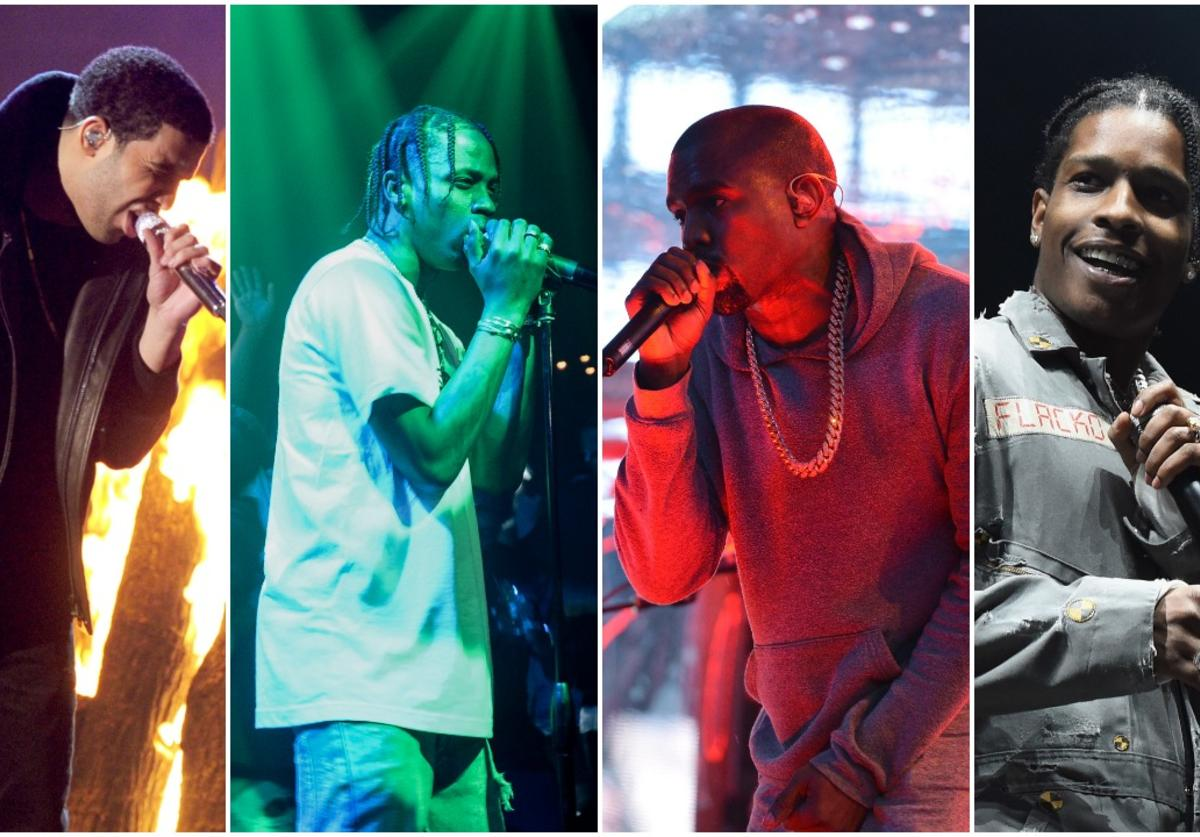 Drake / Travis Scott / Kanye West / A$AP Rocky