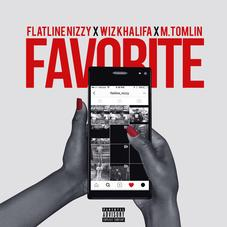 "Wiz Khalifa & M. Tomlin Join Flatline Nizzy On ""Favorite"""