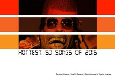 Hottest 50 Songs Of 2015