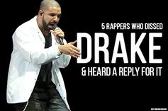 5 Rappers Who Dissed Drake & Heard A Reply For It