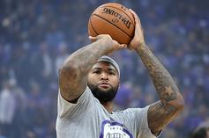 Watch DeMarcus Cousins' Emotional Farewell To Sacramento