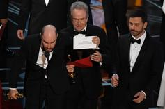 """""""Moonlight"""" Wins Best Picture After It's Accidentally Awarded To """"La La Land"""": Watch"""