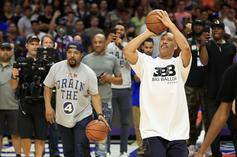 Watch LaVar Ball vs. Ice Cube In Big3 4-Point Challenge