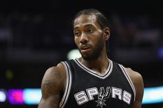 Spurs Announce Kawhi Leonard Will Be Out Indefinitely