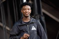 21 Savage Dropped $40K On His Kids At Gucci Store