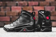 """Air Jordan 9 """"Bred"""" To Release For First Time This Weekend"""