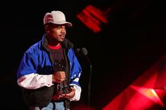 Watch Chance The Rapper Receive Innovator Award at iHeartRadio Music Awards