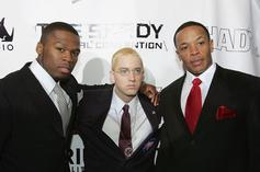 Eminem Reunited With 50 Cent & Dr. Dre At Coachella