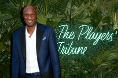 Lamar Odom Seen Out In Public With Khloe Kardashian Look-alike