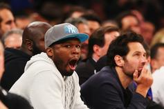 """50 Cent Warns JR Smith He's In Line To """"Get The Strap"""""""