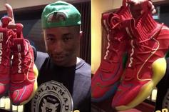 Pharrell Reveals Special Adidas Crazy BYW PE For James Harden