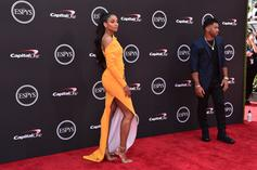 Shiggy Stiff Arms Russell Wilson To Take Photo With Ciara