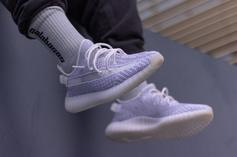 "Adidas Yeezy Boost 350 V2 ""Static"" On-Foot Photos Revealed"
