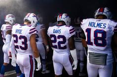 Buffalo Bills' Vontae Davis Retired At Halftime Of Loss To Chargers