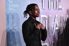 "A$AP Rocky Premieres New Song ""Sh*ttin Me"" At Camp Flog Gnaw"