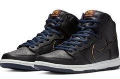 "NBA X Nike SB Dunk High ""Cavaliers"" Detailed Images And Release Info"