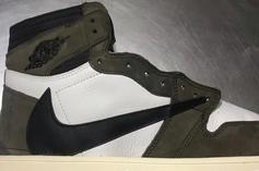 Travis Scott X Air Jordan 1 New Images Emerge