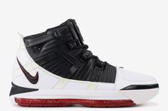 "Nike LeBron 3 Returning In OG ""Home"" Colorway"