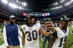 """Todd Gurley On Lack Of Playing Time Sunday: """"I Was Sorry As Hell Today"""""""
