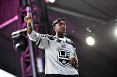 """Buddy & A$AP Ferg Post Up For 21 Savage On """"The Late Late Show"""""""