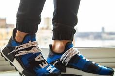 Adidas And Billionaire Boys Club Team Up For Blue Flannel Pharrell NMD