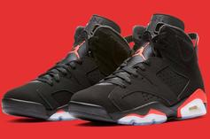 "Air Jordan 6 ""Infrared"" Release To Have Plenty Of Stock"