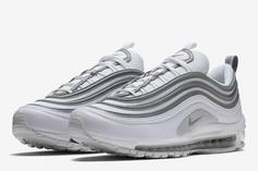 Nike Air Max 97 Coming In Clean White And Silver Colorway