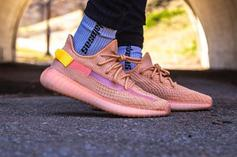"""Adidas YEEZY BOOST 350 V2 """"Clay"""" On-Foot Images"""