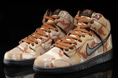 "Nike SB Dunk High ""Desert Camo"" Released Today: Details"
