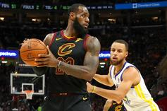 LeBron James Makes Steph Curry's Top 5 NBA Players of All-Time List