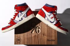 """Sixers """"Phila Unite"""" Air Jordan 1s Made Exclusively For Celebrity Fans"""