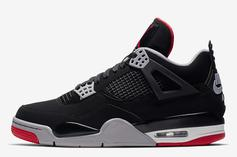 """Air Jordan 4 """"Bred"""" Release Date Confirmed: Official Images"""