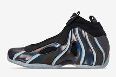 Nike Air Flightposite One Receives Colored Piping: Details
