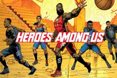 "Adidas Basketball x Marvel Introduce ""Heroes Among Us"" Collection"