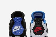 """What The"" Air Jordan 4 To Include ""Military Blue"" & ""Fire Red"" Colorways"