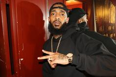 "Nipsey Hussle Earns 1st Top 10 On Billboard Hot Rap Songs With ""Racks In The Middle"""