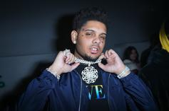 """Smokepurpp Shows Off His """"Insane Jewelry Collection,"""" Drops $100K On Jesus Head"""