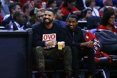 """Drake Wants To Know If Media Wants To Talk About """"Curse"""" Following Raptors Win"""