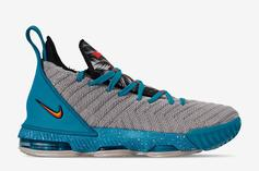 Nike LeBron 16 Brings The South Beach Vibes In New Colorway: Photos