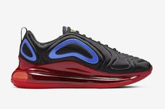 Nike Air Max 720 Coming In Black & Red Colorway: First Look
