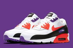 Nike Air Max 90 Dressed In Raptors Colors Amid NBA Finals