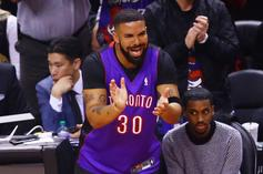 """Drake Offers To Fix His """"Twin"""" Fred VanVleet's Chipped Tooth After Game 4"""