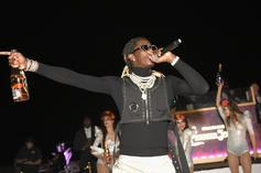 Young Thug Celebrates His First Diamond Plaque